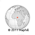 Outline Map of Magumeri, rectangular outline