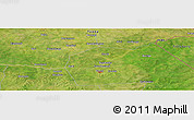 Satellite Panoramic Map of Bouabou
