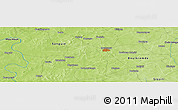 Physical Panoramic Map of Bonga