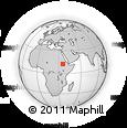 Outline Map of Tewodros Ketema, rectangular outline