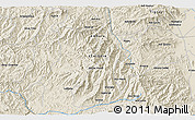 Shaded Relief 3D Map of Bufelī