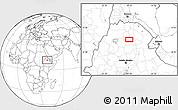 Blank Location Map of Rare