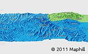 Political Panoramic Map of Rare