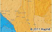 Political Map of Goroubéri