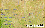 Satellite Map of Goroubéri