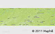 Physical Panoramic Map of Darou