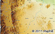 Physical Map of Ciobi