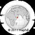 Outline Map of Kilmia, rectangular outline