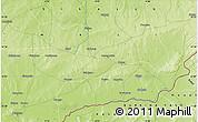 Physical Map of Garamana