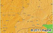 Political Map of Garamana