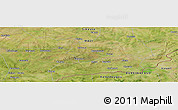 Satellite Panoramic Map of Ouho