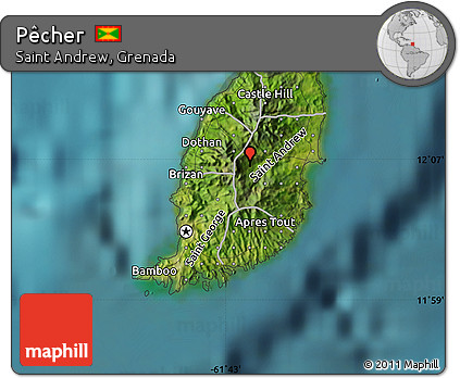 Free Satellite Map of Pcher