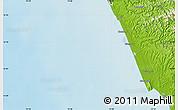 Physical Map of Kānnangād