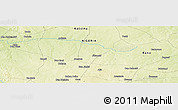 Physical Panoramic Map of Baban Duhu