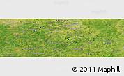 "Satellite Panoramic Map of the area around 12°11'54""N,7°34'30""W"
