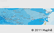 """Political Panoramic Map of the area around 12°11'54""""N,84°4'29""""W"""