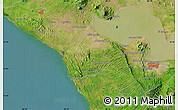 """Satellite Map of the area around 12°11'54""""N,86°37'30""""W"""