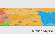 """Political Panoramic Map of the area around 12°42'56""""N,0°4'30""""E"""