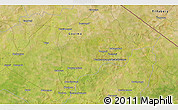 """Satellite 3D Map of the area around 12°42'56""""N,0°55'29""""E"""