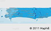 Political Panoramic Map of Ban Choeng Noen