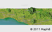 Satellite Panoramic Map of Ban Dao Ruang