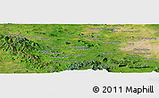 Satellite Panoramic Map of Phumĭ Bœ̆ng Svay