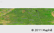 "Satellite Panoramic Map of the area around 12° 42' 56"" N, 105° 28' 29"" E"