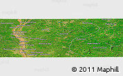 Satellite Panoramic Map of Phumĭ Ânsaông Thleăk