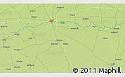 Physical 3D Map of Garau