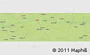 Physical Panoramic Map of Garau