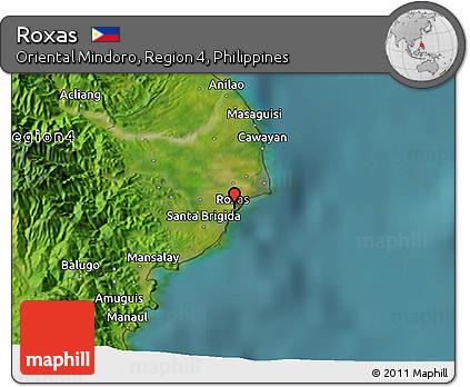 Free Satellite D Map Of Roxas - Roxas map