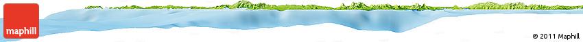 Physical Horizon Map of Monreal
