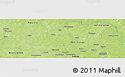 Physical Panoramic Map of Bourki