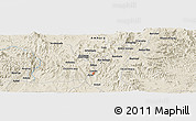 Shaded Relief Panoramic Map of Fent'er