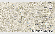 Shaded Relief 3D Map of Dayu
