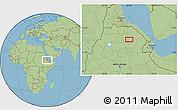 "Savanna Style Location Map of the area around 12°42'56""N,40°1'29""E"
