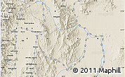 """Shaded Relief Map of the area around 12°42'56""""N,40°1'29""""E"""
