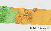 """Political Panoramic Map of the area around 12°42'56""""N,40°1'29""""E"""