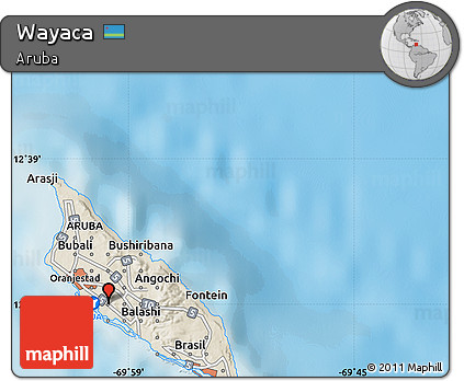 Free shaded relief map of wayaca shaded relief map of wayaca publicscrutiny Gallery