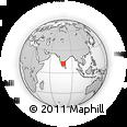 Outline Map of Sipcot Ph. I, rectangular outline