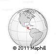 Outline Map of Matagalpa, rectangular outline