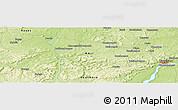 Physical Panoramic Map of Kati