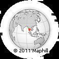 Outline Map of Myeik, rectangular outline