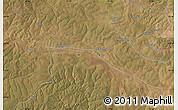 "Satellite Map of the area around 12°22'13""S,27°16'29""E"