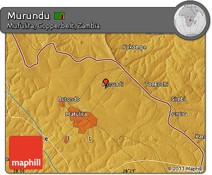 Free Physical Map of Murundu