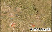 Satellite Map of Kakompe