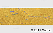 Physical Panoramic Map of Mwendama