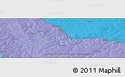 "Political Panoramic Map of the area around 12° 22' 13"" S, 28° 58' 30"" E"