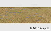 "Satellite Panoramic Map of the area around 12°22'13""S,29°49'30""E"