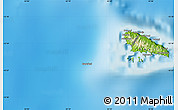 Physical Map of Fomboni